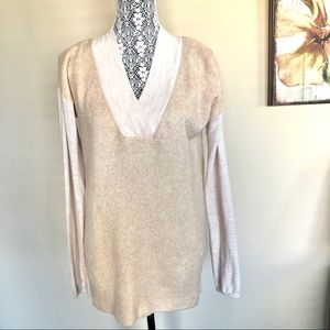 Anthropologie Moth V-Neck wool, Alpaca Sweater